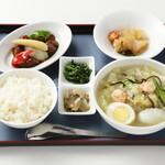 紅蘭亭 - 【中華定食】太平燕と酢排骨のゴールデンコンビ。1,270円