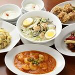 紅蘭亭 - 【円卓料理コース】紅蘭亭を代表する料理が召し上がれるお得なコース。おひとり様1,980円※2名様からのご注文をお願いいたします
