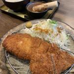 味処てっ平 - ひれロース食べ比べ膳