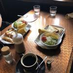 珈琲館かぶ - 料理写真: