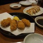 あぶ家 - 牡蠣フライ
