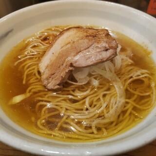 煮干そば 藍 - 料理写真: