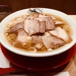 157929207 - 肉そば 普通盛り ¥1,270-(税込)