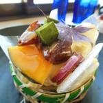 シューマン - (季節商品)秋のかごもり¥420 ※ケーキに負けない甘い南瓜が載ってる♪