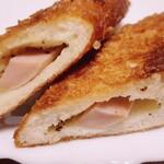 手作りパン キムラヤベーカリー - 揚げウインナーパン