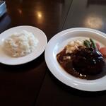 洋食屋クメキッチン - 料理写真:ハンバーグ