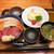 四季の味 さくれ - 料理写真:海老まぐろ丼 ¥1,000