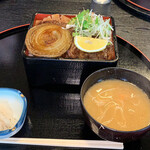 江釣子屋 - サーロインステーキ重¥2100