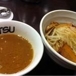 海老だしの哲 - つけ麺(800円)