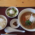 岩見屋 - 料理写真:かわもとエゴマの担担麺