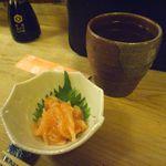 よってけふうちゃん - 日本酒とお通し(いか黄金)