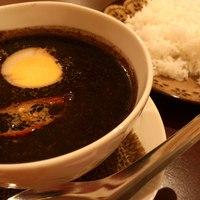 ムンランギットカフェ - 月空カレー☆とろとろ角煮の 黒カレー スパイスたっぷり後引く辛さ! 数量限定です