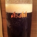地酒ビストロ おいち。 - ビールは琥珀?黒色?…飲みかけですいません