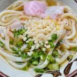 野口製麺 - 料理写真:冷かけ小