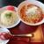 中華食堂 なると軒 - 料理写真:担々麵と玉子炒飯セット 2021.9月
