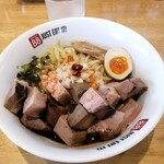 麺食堂 88 - ジャンクそば角チャーシュートッピング