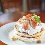 Egg's country - 季節限定イチジクパンケーキ 850円