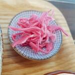 zakkapurasukafekichi - 紫キャベツの酢漬け
