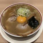 東京煮干し らーめん玉 - 特製濃厚とろりそば(1,100円)