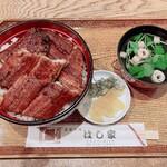うなぎ料理 はし家 - 特上うなぎ丼 3,300円
