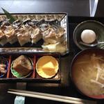 和ダイニング 天樹 - 焼き鯖寿司セット