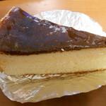 ボンメール洋菓子店 - チーズケーキ¥320