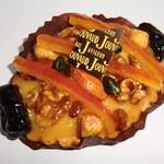 15796690 - ドライフルーツとナッツとレモンクリームの菓子