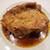 シャンパン食堂 - 鶏もも肉のロースト トリュフのソース
