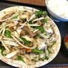 ドライブイン幸華 - 料理写真:ニラレバ炒め定食