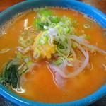 万寿山 - 霞ヶ浦ラーメン(味噌)