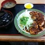 15797484 - チキンバターガーリック炒め定食
