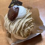 パティスリー 苺いちえ - 和栗のモンブラン480円