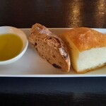 リストランテ カルド - 自家製パン