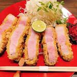 157974881 - 山形豚特選ロースカツ定食