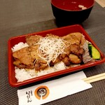 十勝豚丼 いっぴん - 料理写真:豚丼ご飯少なめ弁当 850円
