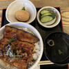 まんまる - 料理写真:来ました! 肝は丼にIN、煮卵は別皿か。