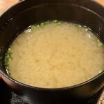 花むら - 味噌汁