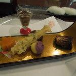 かもい岳温泉 - 夕食 八寸