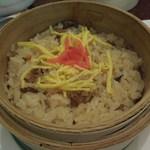 かもい岳温泉 - 夕食 シメジご飯