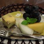 かもい岳温泉 - 夕食 デザート