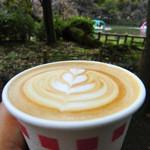 ブルースカイコーヒー - カフェラテ(ホット)