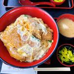 国境食堂 - 料理写真:かつ丼