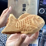 日本一たい焼き - 料理写真:【日本一たい焼】カスタード?小豆あん?どっち?!