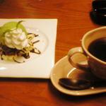 158828 - 丹波の黒豆珈琲と抹茶アイス&大納言のセット