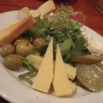 158992 - チーズ・ピクルス・オリーブの盛合せ