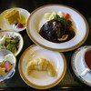 風の谷 - 料理写真:牛肉のジューシーハンバーグ