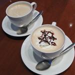 ハーバーズカフェ - カフェラテとカフェモカ