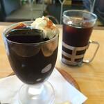 ロージナ茶房 - ■コーヒーゼリー(アイスコーヒーセット)