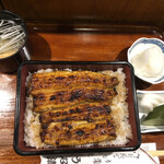 うな清 - 料理写真:上うな重 肝吸い変更で@3,200円
