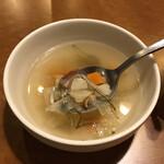 ドイツ居酒屋 JSレネップ - 土日ランチセットのスープ